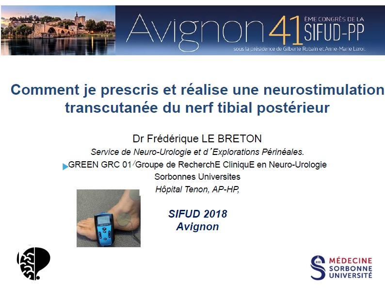 Comment prescrire une neurostimulation Urostim2