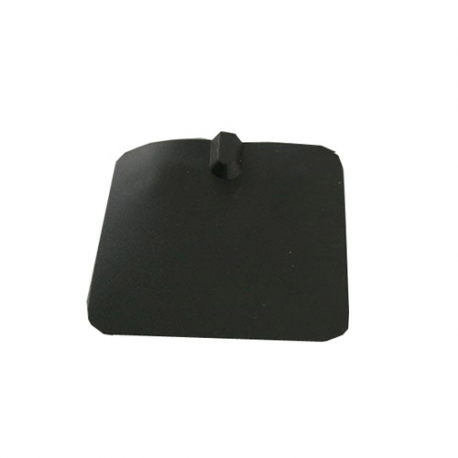 Electrodes rectangulaires silicone graphite 70x65